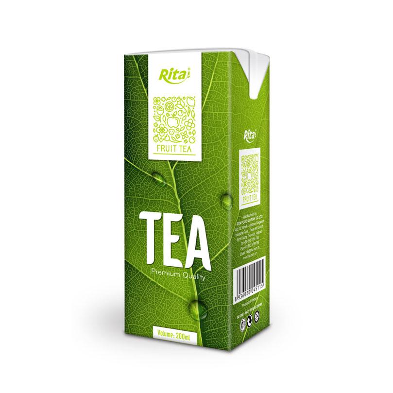 200ml Tea Drink (Black Tea/Fruit Tea/Green Tea/Herbal Tea)