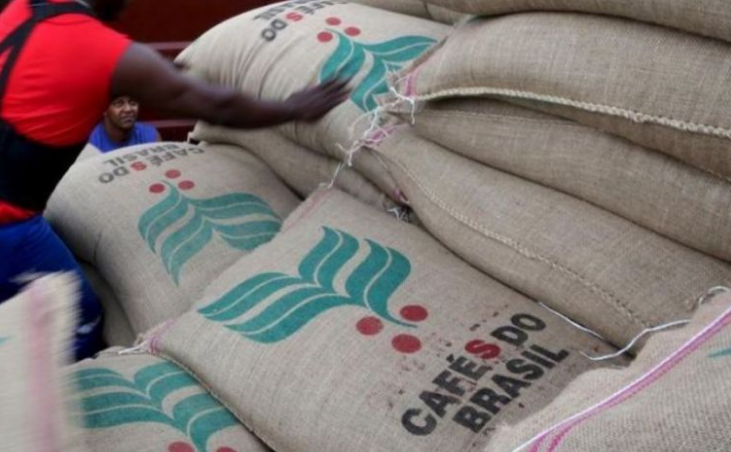 China surges as new major destination for Brazil's coffee exports.