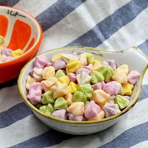 Puffed food baby snacks