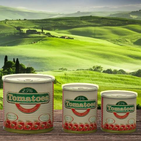 Offer Only tomato paste Tomatoes™ gives the dishes a taste of juicy tomatoes.