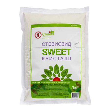 Supply of sweeteners, sugar, food additives, stevia extract, Russia