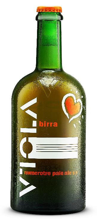 Viola brewed beer
