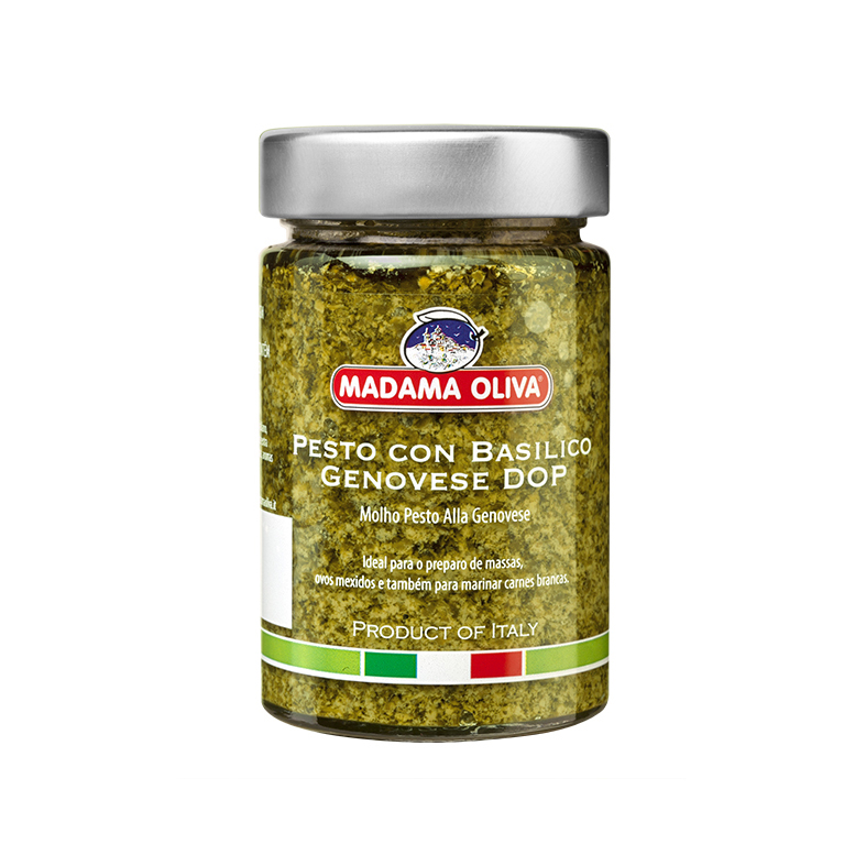 Pesto Basil and Pine Nut Italian Condiment Traditional Pesto