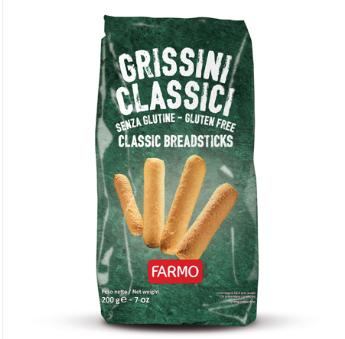 CLASSIC BREADSTICKS Italy Salty Snack Gluten Free