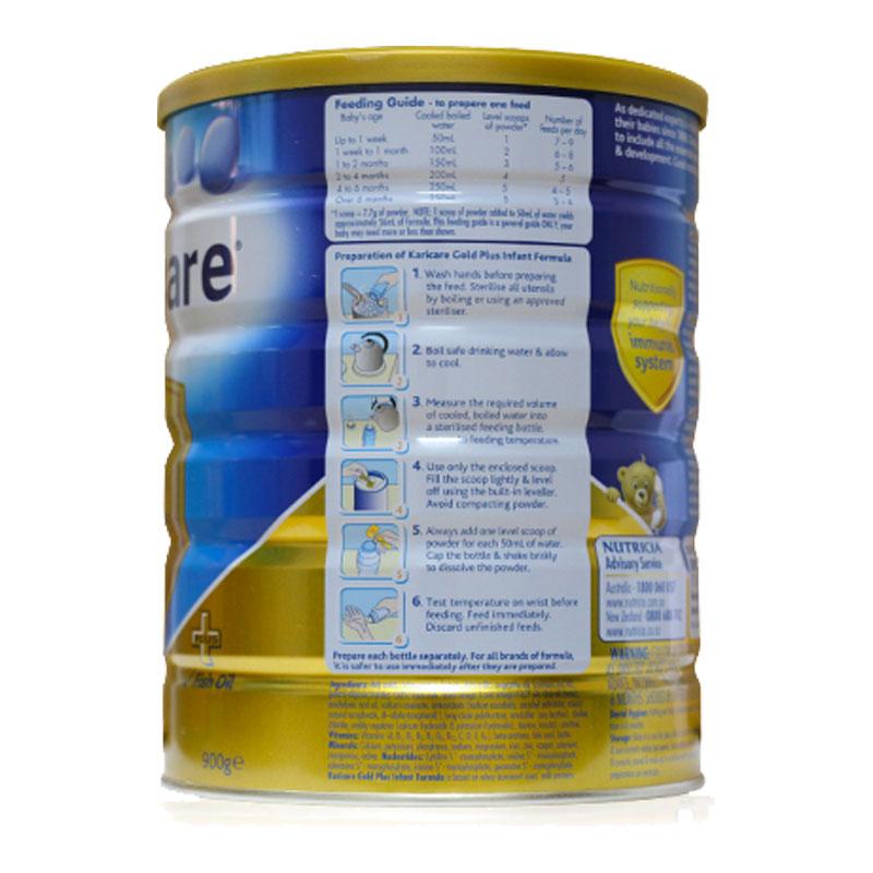 Professional Platform of Karicare 1 900g/ cans of infant