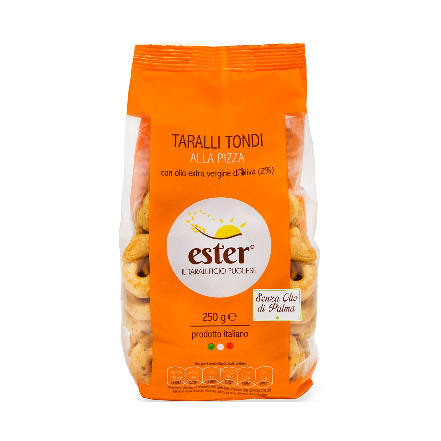 Ester Pizza Taralli Tondi Baked Product Italy wheat,salted snack,biscuit