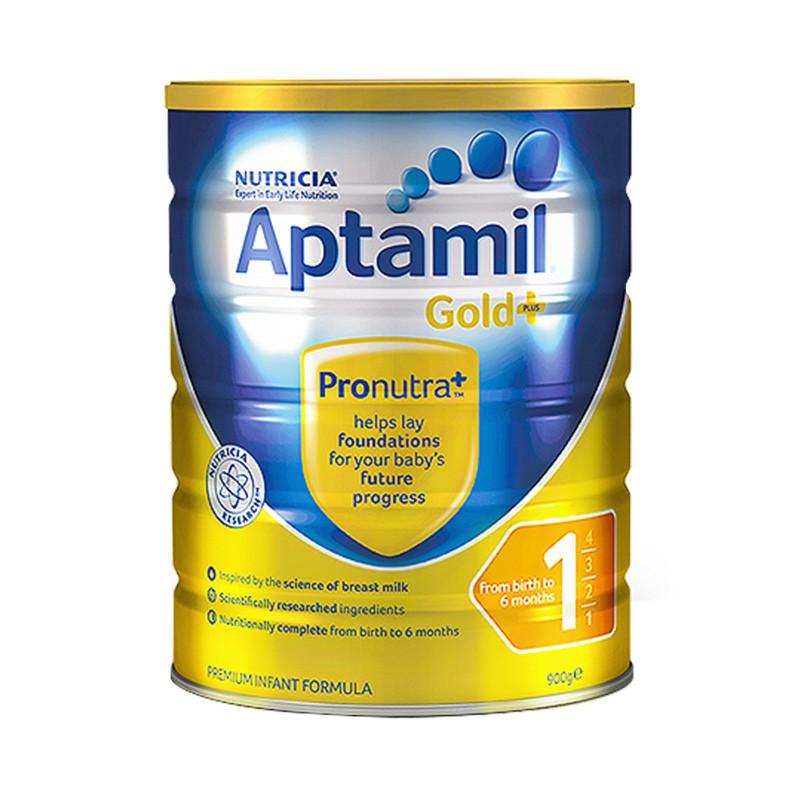 Aptamil loves his 1 pack 900g/ cans of infant formula milk powder.