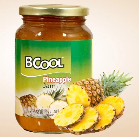 Custom Packaging Pineapple Fruit Jam for Bulk Buyers