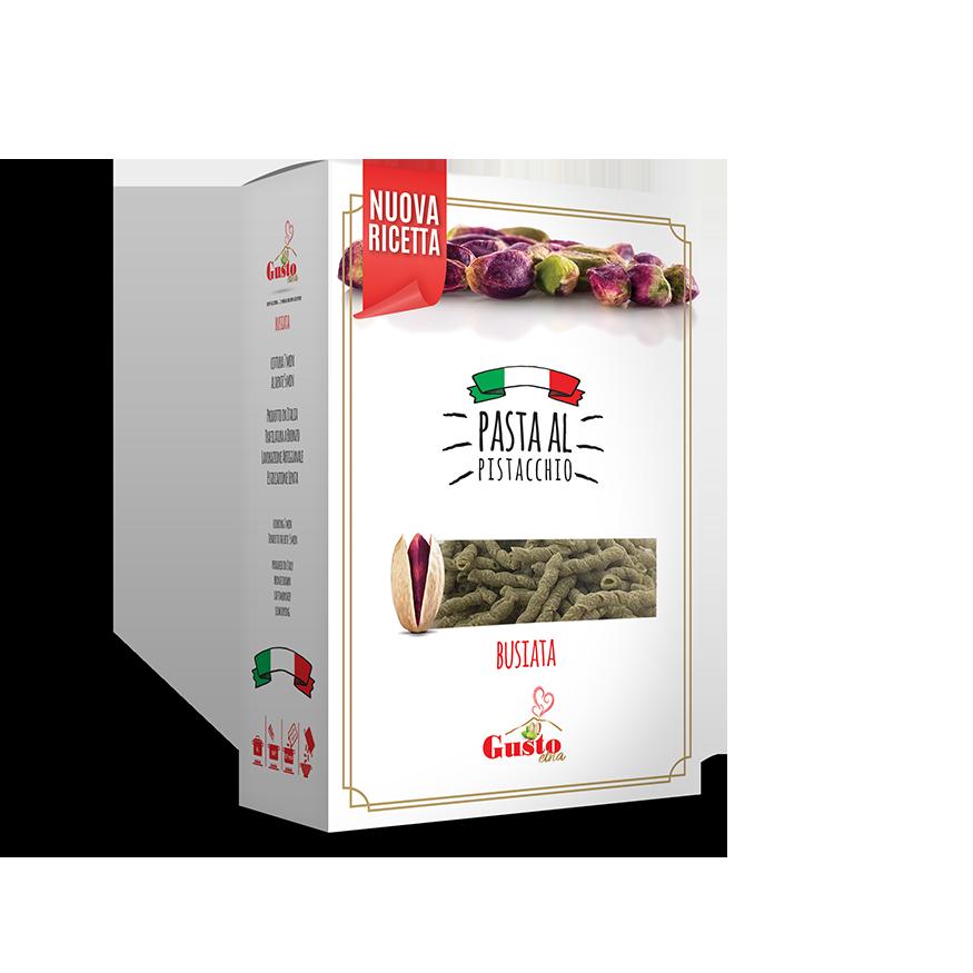 Pistachio pasta penne Wheat, pasta cereal, Italy, I veri sapori dell'Etna srl Gusto