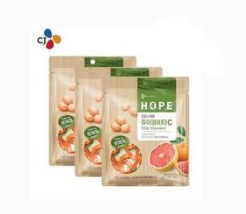 Purchase of Korean CJ HOPE Fruit Complex Flavor Vitamin Fudge Chewable Tablets Vitamin C