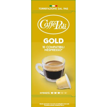 Italy Coffee GOLD 10 Capsules