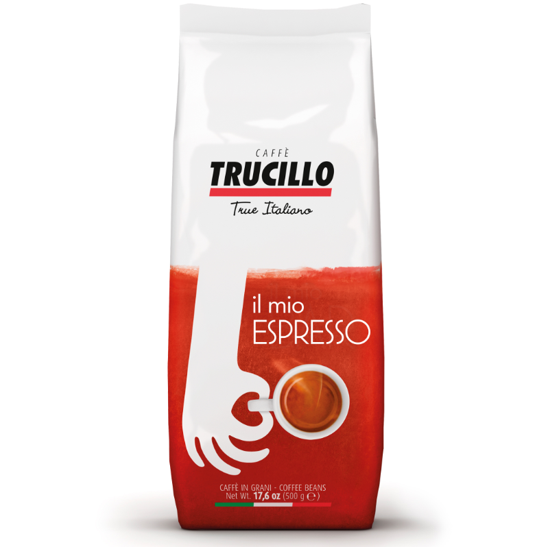Italian coffee Il Caffè Espresso 500 g bag beans Trucillo from Italy