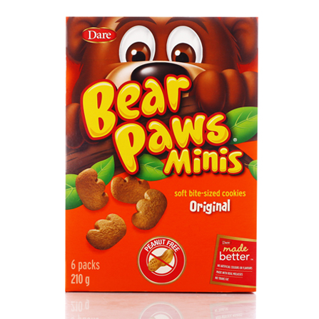 Brave bear cookies