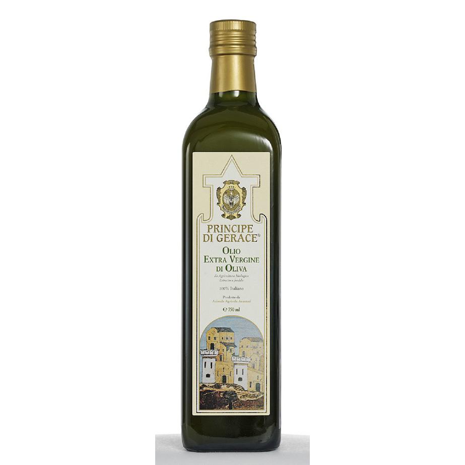 Principe di Gerace, Organic Extra Virgin olive oil, 100% Product of Italy 250ml/500ml/750ml, Mediterranea foods, Italy