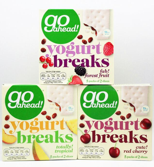 British Go Ahead yogurt biscuit