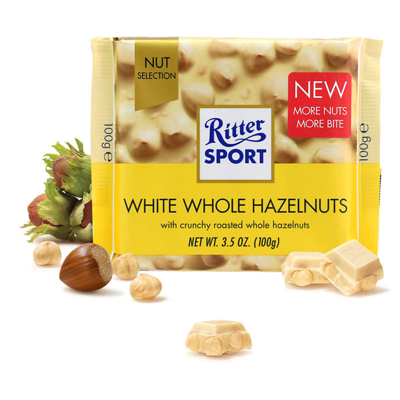 Buy Ritter Sport White Hazelnut Chocolate