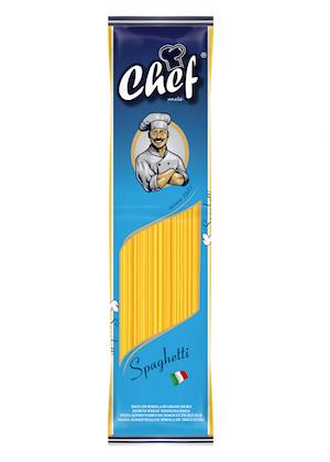 chef 250 gr spaghetti
