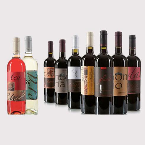 TESEO - Primitivo Of Manduria DOP Vol.14% (Red Wine) , Cantina Bosco, 100% Italy