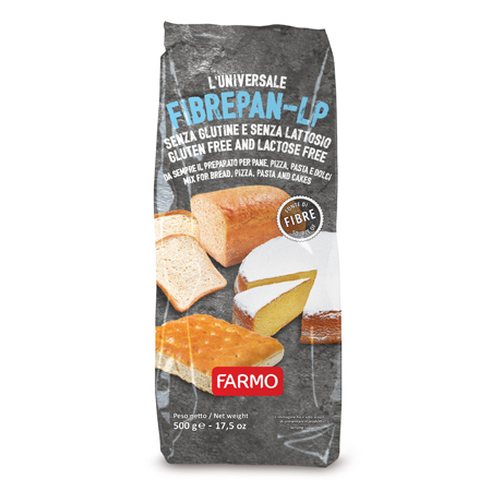 FIBREPAN-LP Bakery Mix Italy Bakery Mix For Bread Pizza  Pasta Cakes Gluten and Lactose Free