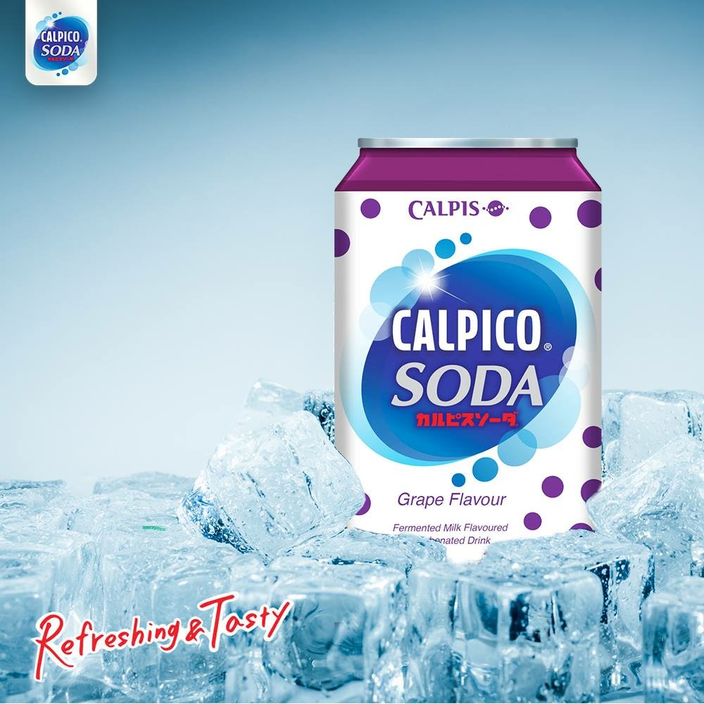 Calpis Calpico Soda Beverage