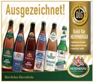 Herrliches Herrnbräu German Beer