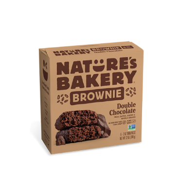 Nature's Bakery Brownie Bars (Double Chocolate)