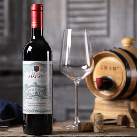Imported red wine, besa dry red wine, wine, Chile, escatt
