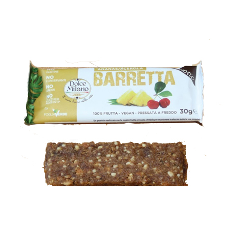 Bar pineapple_acerola italy Leisure food, frozen fruit and vegetable, dried food