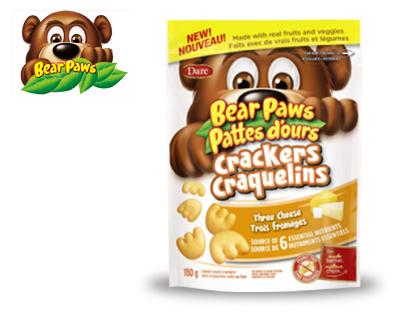 Brave bear cheese cookies