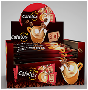 CAFELUX 3IN1 INSTANT COFFEE