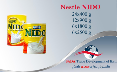 baby food/milk powder/Nestle confectionery/NIDO