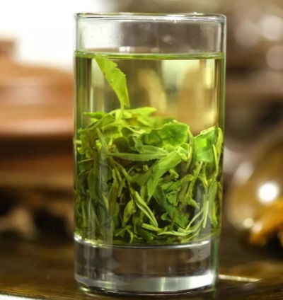 Green tea Fanning