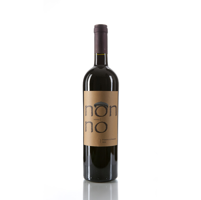 NONNO - Primitivo Of Manduria DOP Vol.17% (Red Wine) , Cantina Bosco, 100% Italy