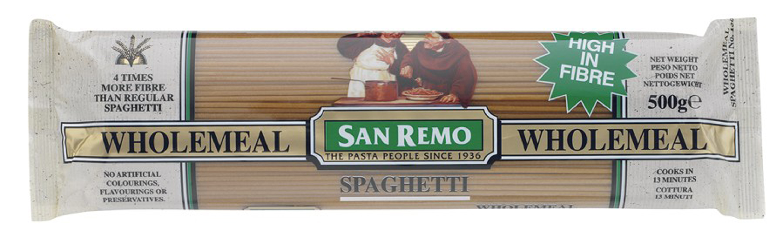 San Remo Pasta