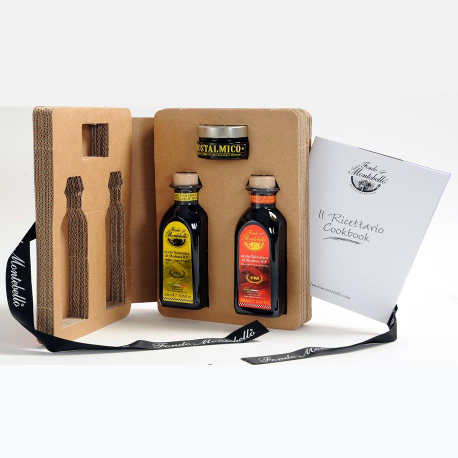 Balsamic Vinegar of Modena IGP art Book - like packing selection 2