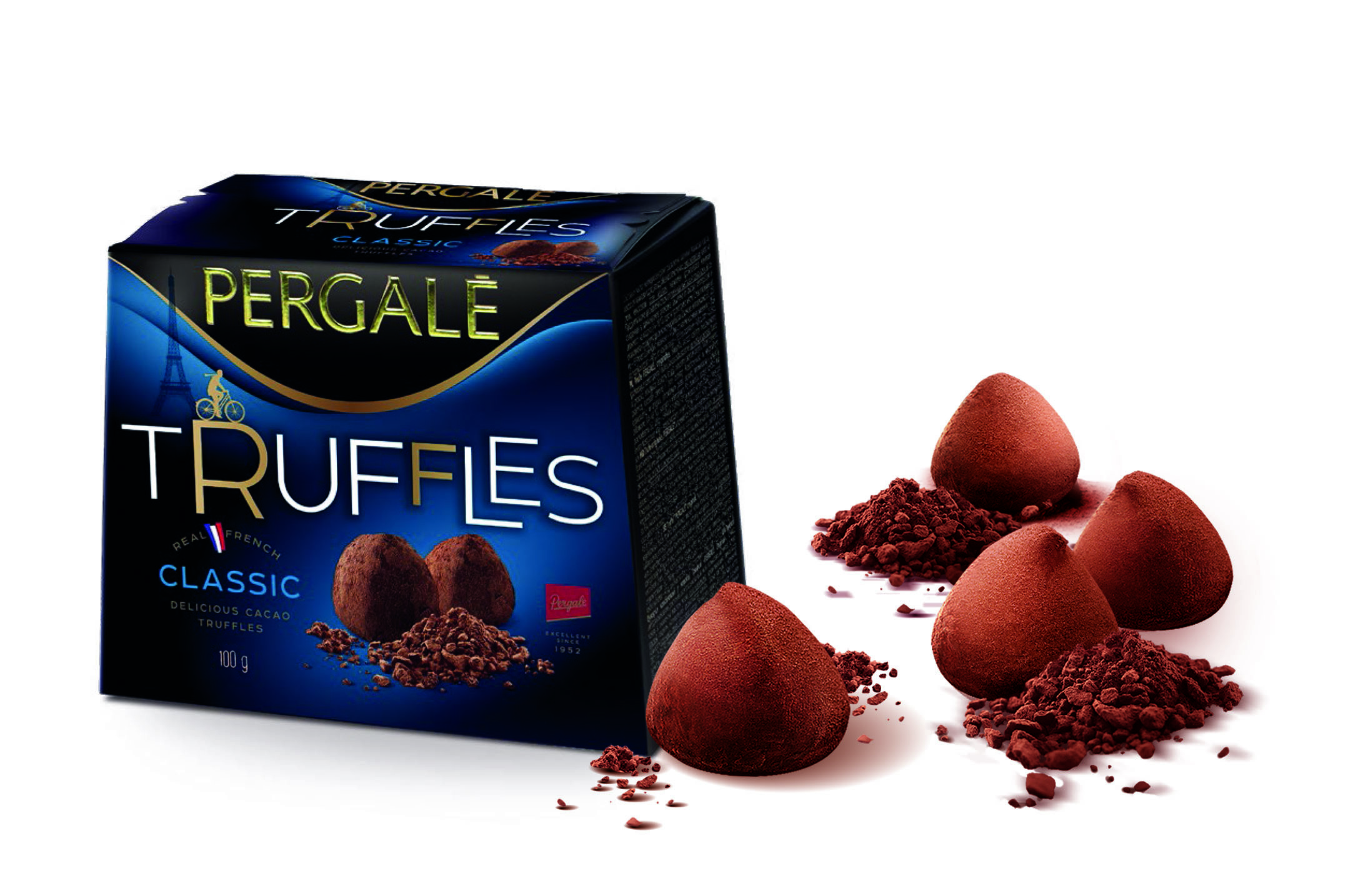 Peg's truffle flavour truffle cocoa butter chocolate