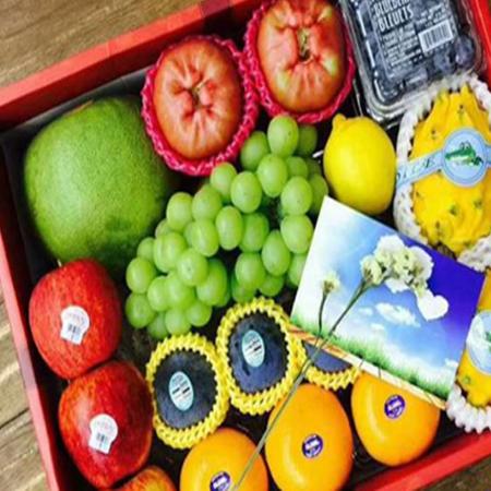Supplys imported  fresh fruit, such as grape, orange, lemon, grapefruit, cherry, cherries, kiwi, blueberry, orange, avocado, etc