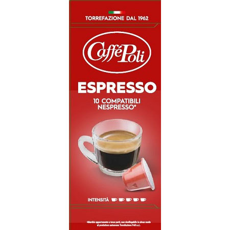 ESPRESSO Coffee 10 Capsules Italy