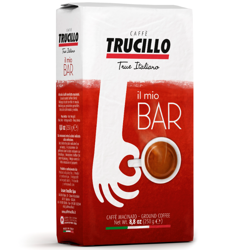 Italian coffee Il Mio Caffè Bar 250 g. pack ground Trucillo from Italy