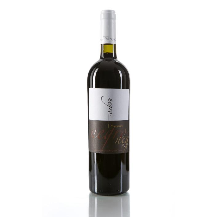 NEGRO - Salento Negroamaro Rosso IGP Vol.14% (Red Wine) , Cantina Bosco, 100% Italy