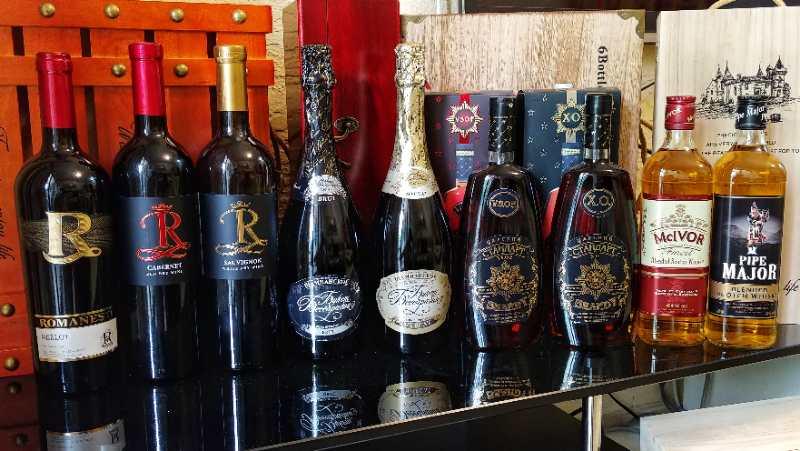 Roman red wine