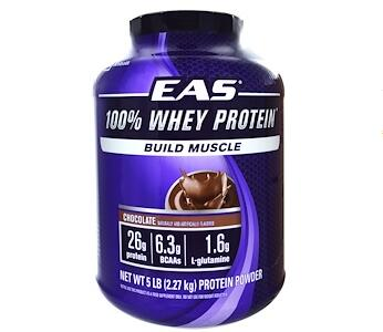 EAS 100% Whey Protein Powder, Chocolate