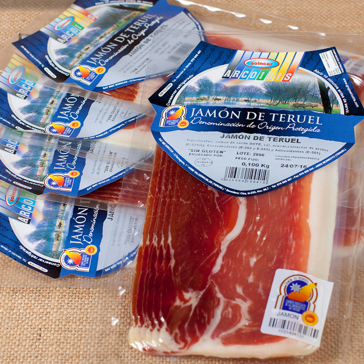 Protected Designation of Origin Sliced Ham from Spain Wholesale | Jamon de Teruel | Soincar