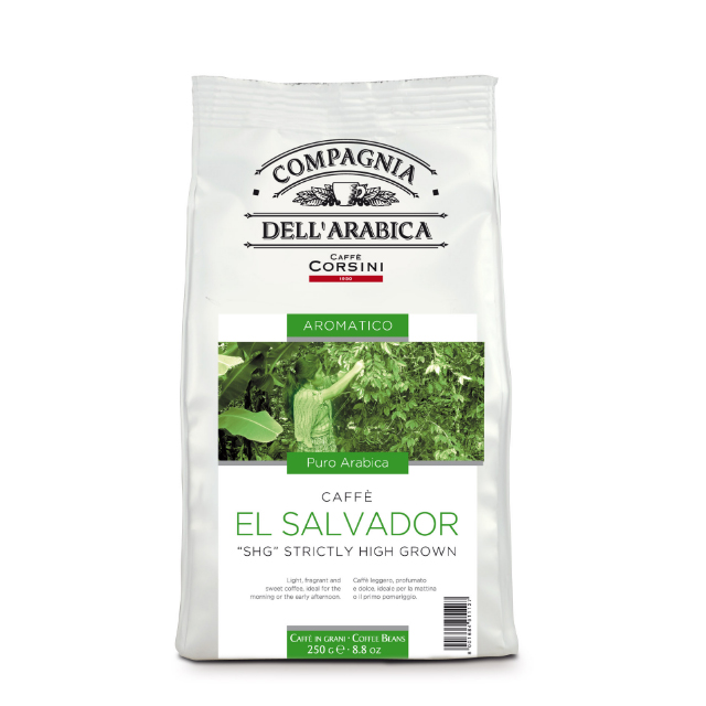 El Salvador Coffee beans 250gr Italian  Coffee Bean