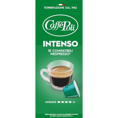 Italy Coffee Capsules INTENSO 10