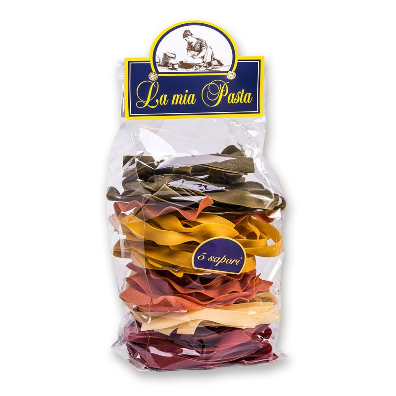 Italian Dired Artisanal Pasta conventional pasta and organic pasta with flavours