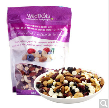 Imported wild roots WildRoots mixed fruit preserved nuts, 737g nuts and dried fruits.
