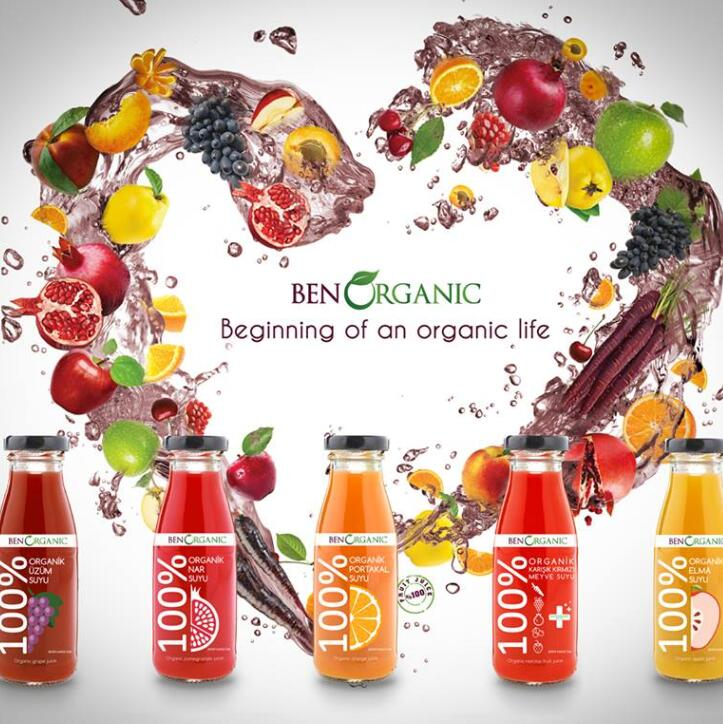 100% juices from Turkey