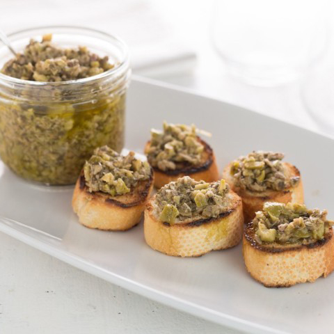 BRUSCHETTA OF ARTICHOKES sauce, condiment, Italy, SARF Specialità Alimentari Riviera dei Fiori