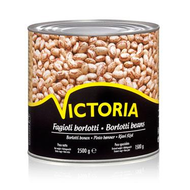 Borlotti Beans Victoria Tin 2500g Borlotti Bean